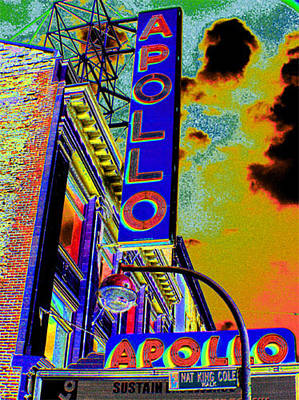 Harlem Digital Art - The Apollo by Steven Huszar