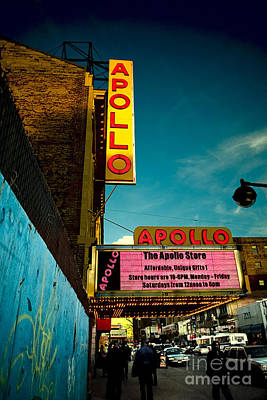 Apollo Theater Photograph - The Apollo Theater by Ben Lieberman