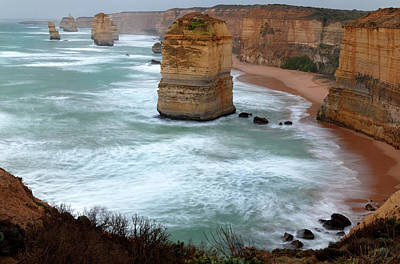 Photograph - The Apostles by Nicholas Blackwell