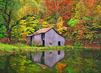 The Appalachian Reflection Art Print