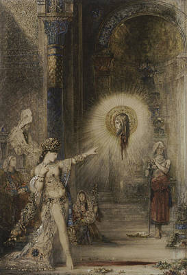 Painting - The Apparition by Gustave Moreau