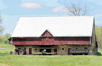 Photograph - The Apple Barn by Jewels Blake Hamrick