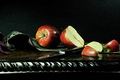 Photograph - The Apple Core by Diana Angstadt