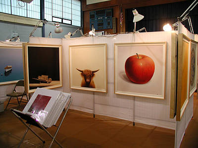 Apple Painting - The Apple by Harold Shull