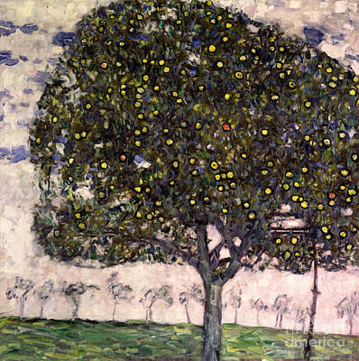 Dgt Painting - The Apple Tree II by Gustav Klimt