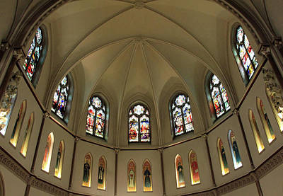 Photograph - The Apse Of St. Patrick's Parish by Cora Wandel