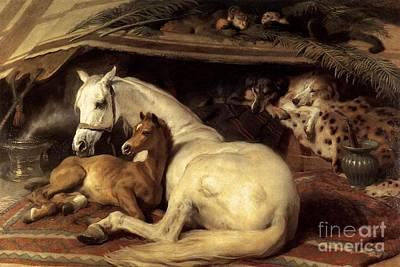 Landseer Painting - The Arab Tent by MotionAge Designs