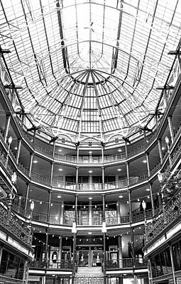 Photograph - The Arcade Cleveland by Robert Meyers-Lussier