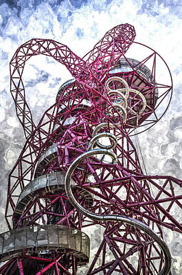 Photograph -  The Arcelormittal Orbit Art by David Pyatt