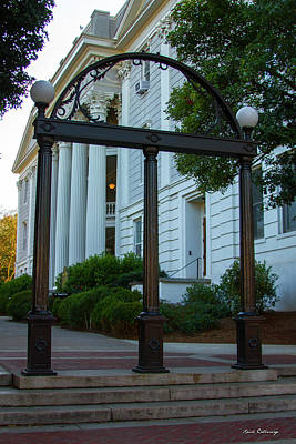 Photograph - The Arch 2 University Of Georgia Arch Art by Reid Callaway