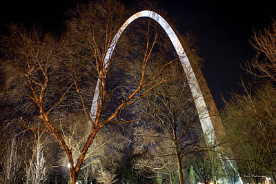 Photograph - The Arch 3 St Louis Missouri Gateway Arch Art by Reid Callaway