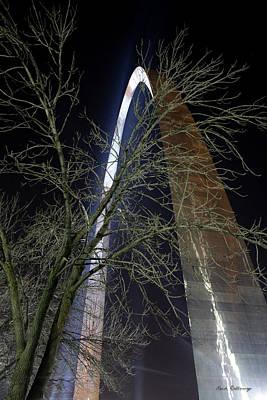 Photograph - The Arch 4 St Louis Missouri Gateway Arch Art by Reid Callaway