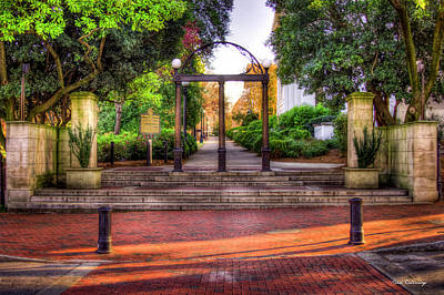 Photograph - The Arch 4 University Of Georgia Arch Art by Reid Callaway