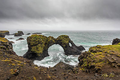 Photograph - The Arch At Gatklettur by Rikk Flohr