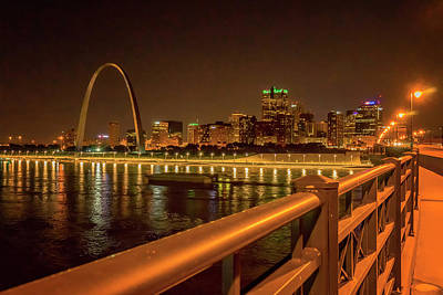 Photograph - The Arch From Eads Bridge_dsc0195_16 by Greg Kluempers