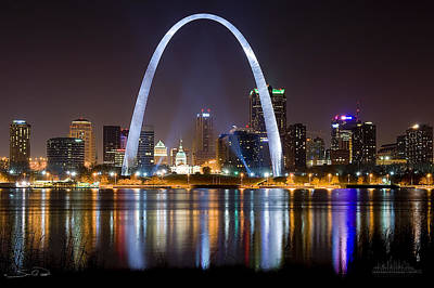 Louis Photograph - The Arch by Shane Psaltis