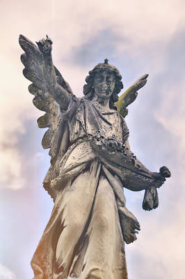 Photograph - The Memphis Archangel by JAMART Photography