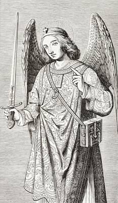 The Archangel Michael, After A Art Print