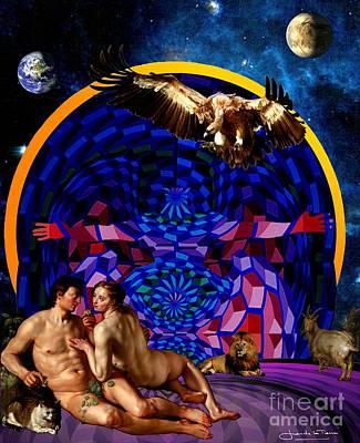 The Archangel Night Art Print by Art Gallery