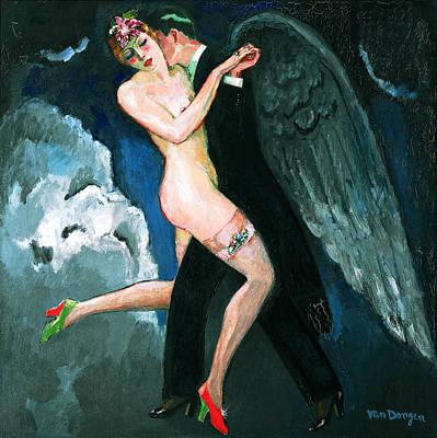 Van Dongen Painting - The Archangel Tango by Kees van Dongen