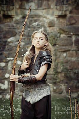 Warrior Women Photograph - The Archer by Amanda Elwell