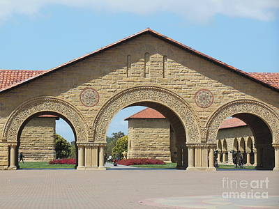 Photograph - The Arches At Stanford by Mini Arora