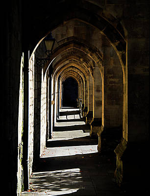 Photograph - The Arches At Winchester Cathedral by Joe Schofield