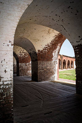 Photograph - The Arches Of Fort Pulaski by Chrystal Mimbs