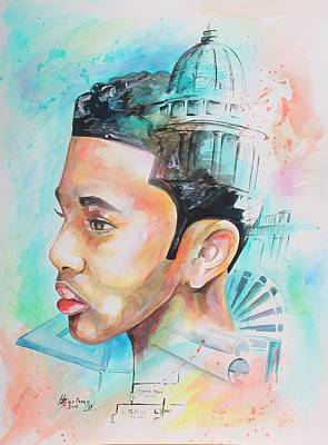 Painting - The Architect In Me by Henry Blackmon