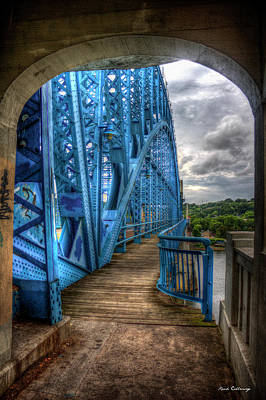 Photograph - The Archway Market Street Bridge John Ross Bridge Art by Reid Callaway