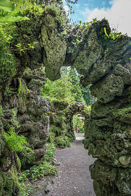 Photograph - The Archways In The Garden by Debra and Dave Vanderlaan