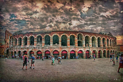 Photograph - The Arena by Hanny Heim