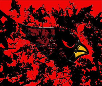 Patriot Mixed Media - The Arizona Cardinals by Brian Reaves