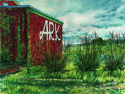 Painting - The Ark Wa. by Cynthia Pride