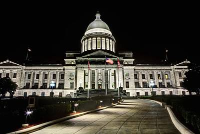 Photograph - The Arkansas State Capitol Building by JC Findley