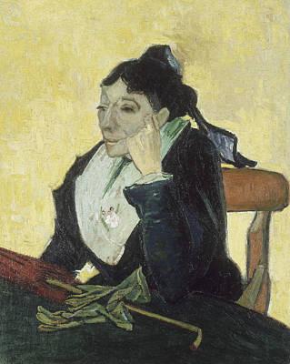 Painting - The Arlesienne by Vincent van Gogh