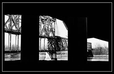 Photograph - The Armour-swift-burlington Bridge by Thomas Bomstad