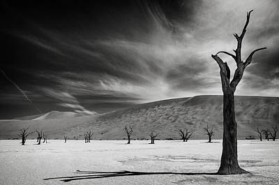 Dunes Photograph - The Army Of The Dead by Mathilde Guillemot