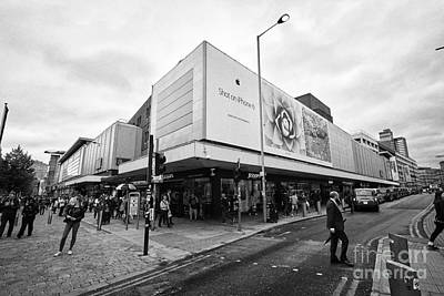The Arndale Shopping Centre And Junction Of High Street And Market Streets Manchester England Uk Art Print