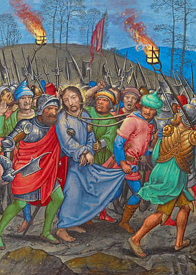 Photograph - The Arrest Of Christ by Munir Alawi