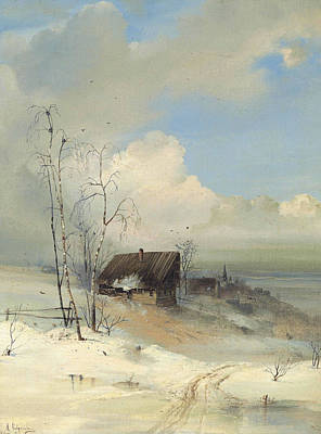 Alexei Savrasov Painting - The Arrival Of Spring by Alexei Savrasov
