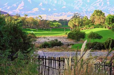 Photograph - The Arroyo In Rancho Mirage by Kirsten Giving