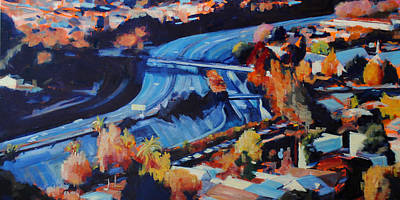 The Arroyo Seco Art Print by Richard  Willson