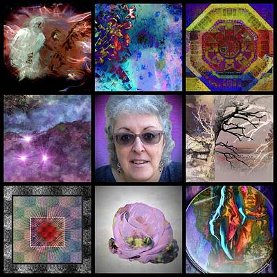 Digital Art - The Art And The Artist Healing Art by Dorothy Berry-Lound