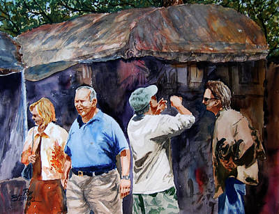 The Art Festival Art Print by Ron Stephens