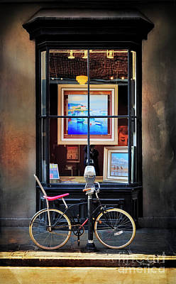 Photograph - The Art Gallery Bicycle by Craig J Satterlee