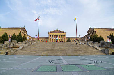 The Art Museum In Philly Art Print