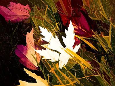 Maple Leaf Art Mixed Media - The Art Of Autumn by Debra Lynch