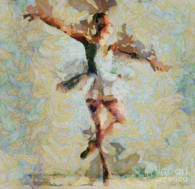 Ice-t Mixed Media - The Art Of Ballet Chooses The Dancer by Sir Josef - Social Critic -  Maha Art