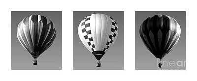 Photograph - The Art Of Ballooning Four by Olivier Le Queinec
